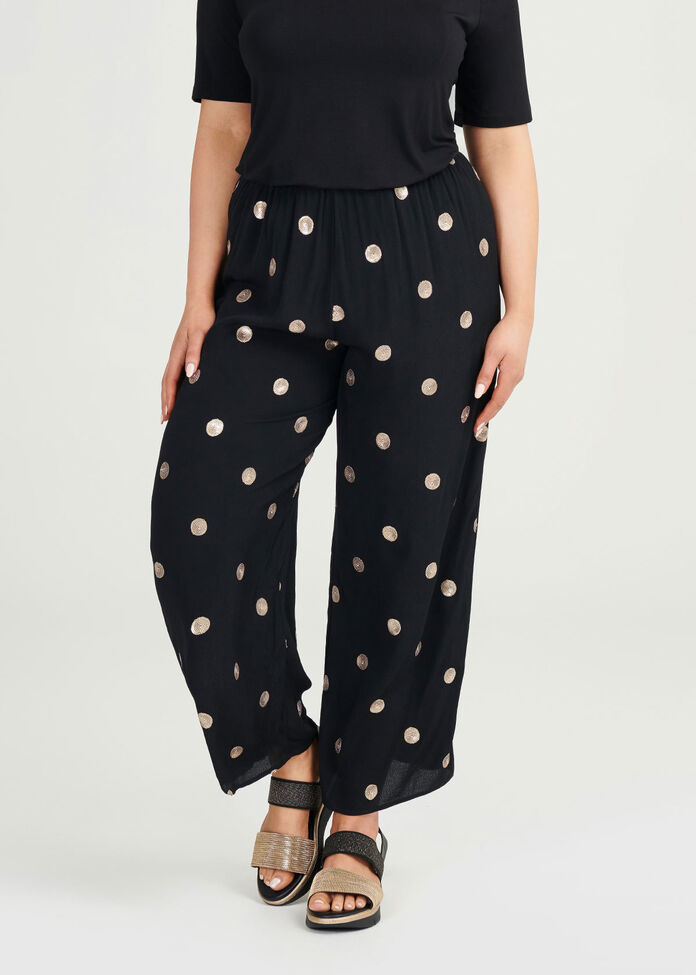 Shine On Viscose Pant, , hi-res