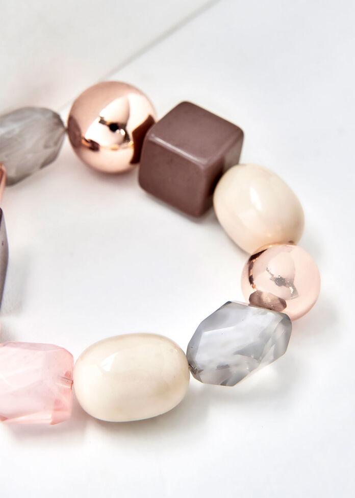 Blush Cube Bracelet, , hi-res