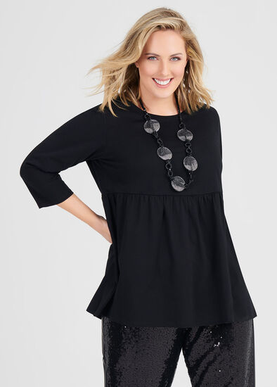 Organic Tiered Top