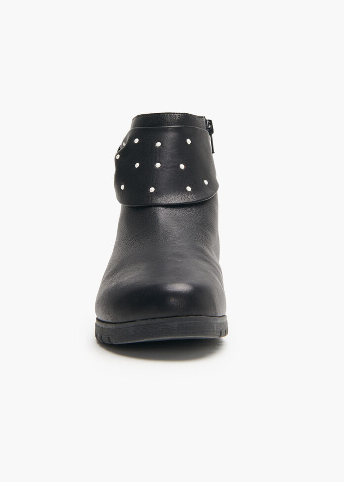 Pearly Leather Boot, , hi-res