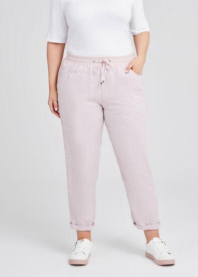 Latania Linen & Sequin Pant