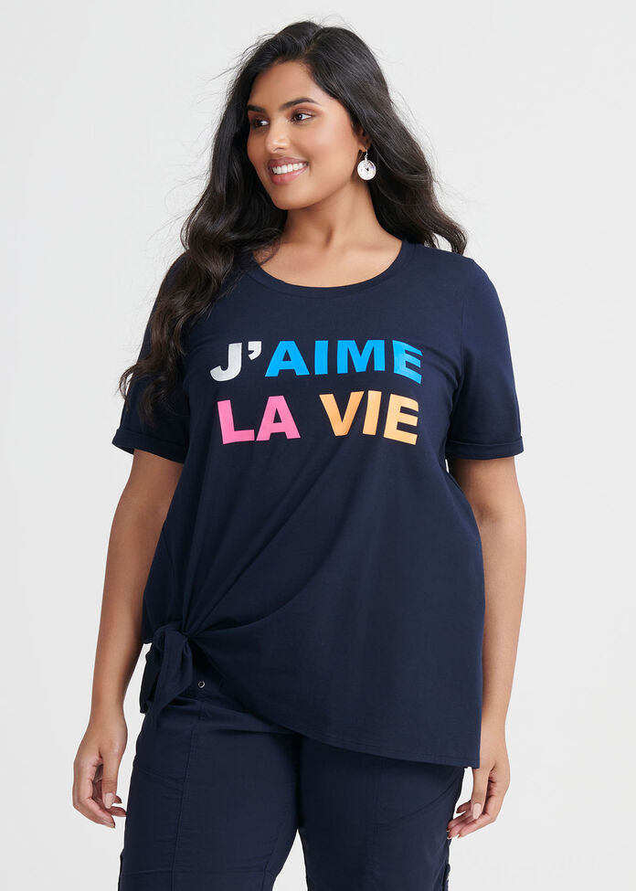 Organic Jaime La Vie Top, , hi-res