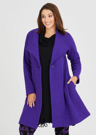 Morgan Boiled Wool Coat