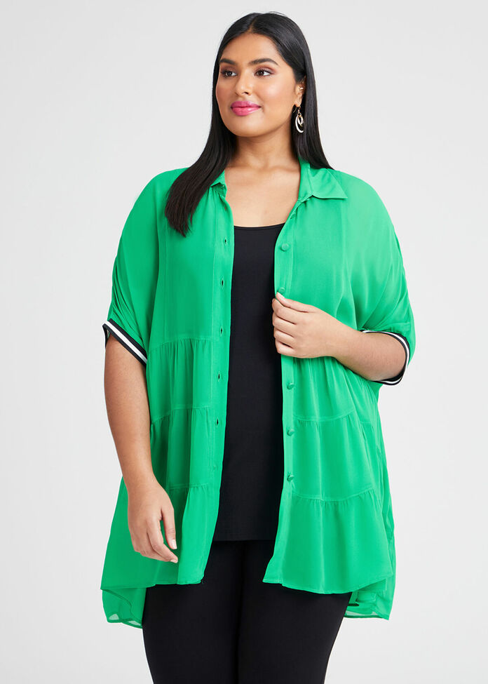 Natural Adoring Tier Shirt, , hi-res
