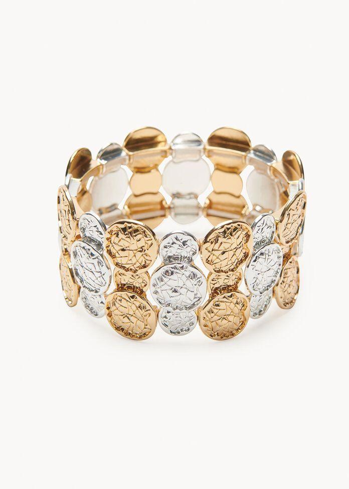 Hammered Coin Bracelet, , hi-res