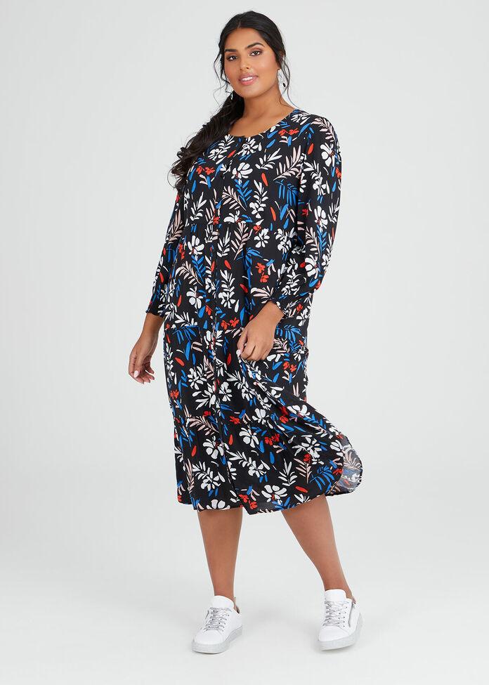 Natural Boho Dress, , hi-res