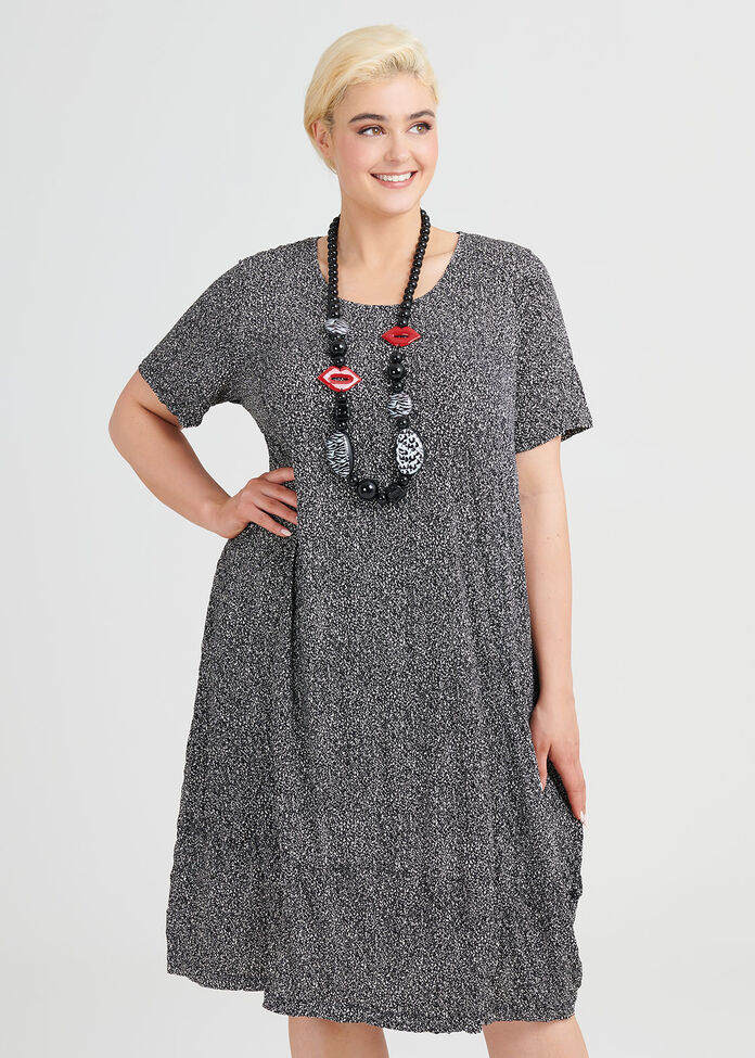 Distinct Dots Dress, , hi-res
