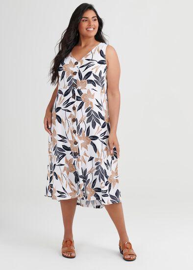 Linen Bamboo Desert Dress