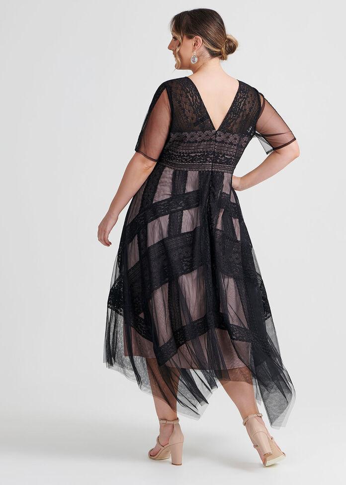 Serena Lace Cocktail Dress, , hi-res