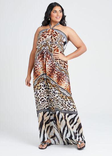 Wild Side Viscose Dress
