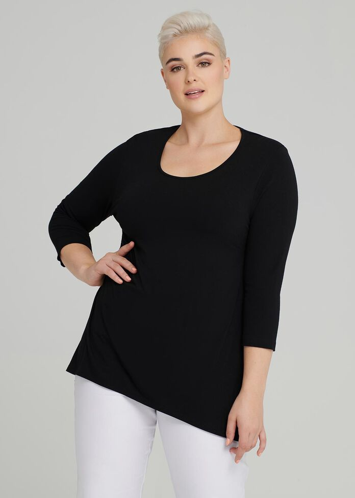 Cora Everyday 3/4 Sleeve Top, , hi-res