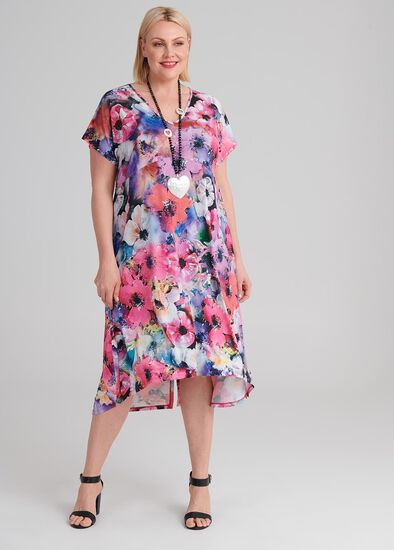 Floral Society Dress