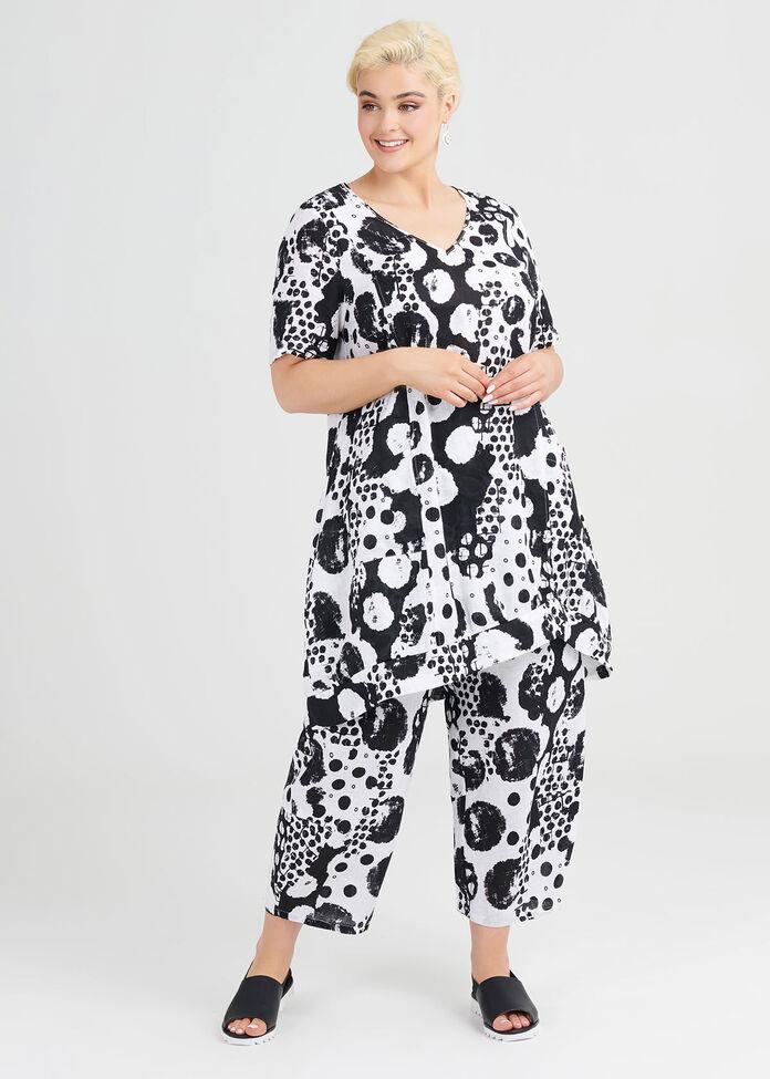 Rough Edges Linen Tunic, , hi-res