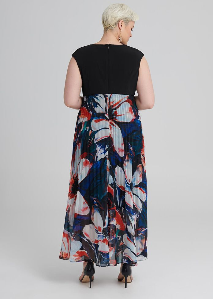 Island Floral Dress, , hi-res