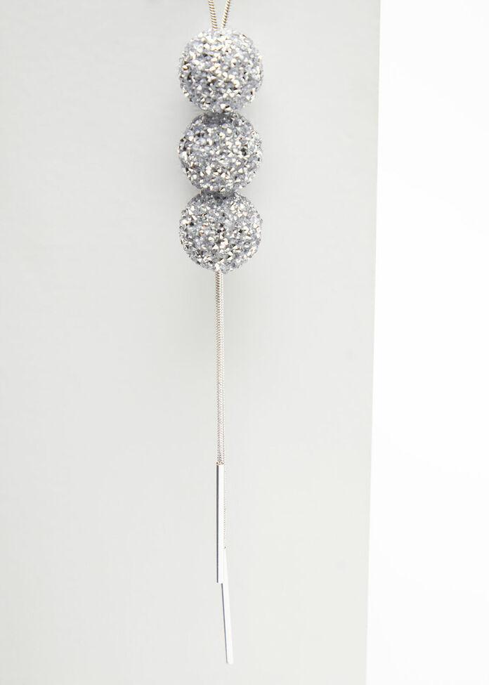 Diamante Ball Necklace, , hi-res