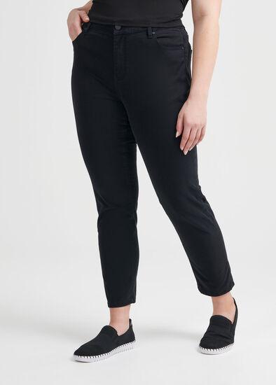 Marilyn Stretch Zip Jean