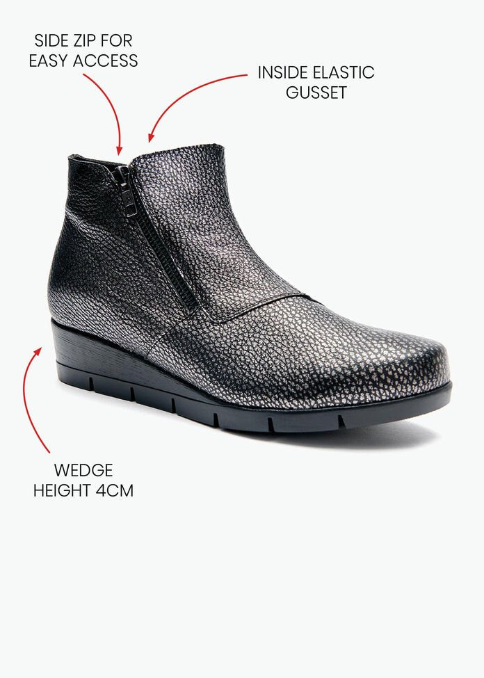 Pablo Pebble Ankle Boot, , hi-res