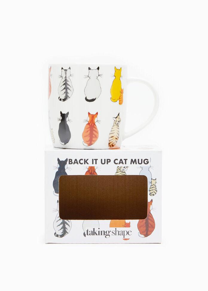 Back It Up Cat Mug, , hi-res