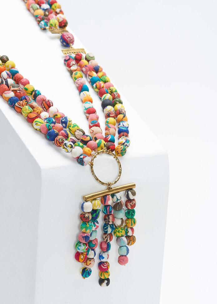 Kantha Y Necklace, , hi-res