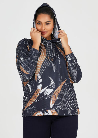 Cosy Abstract Hoodie