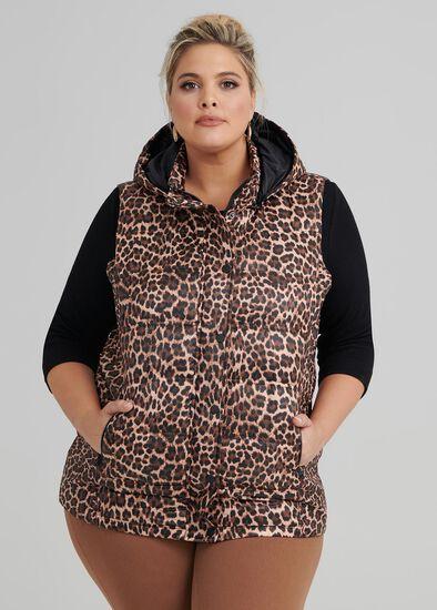 Animal Puffer Vest