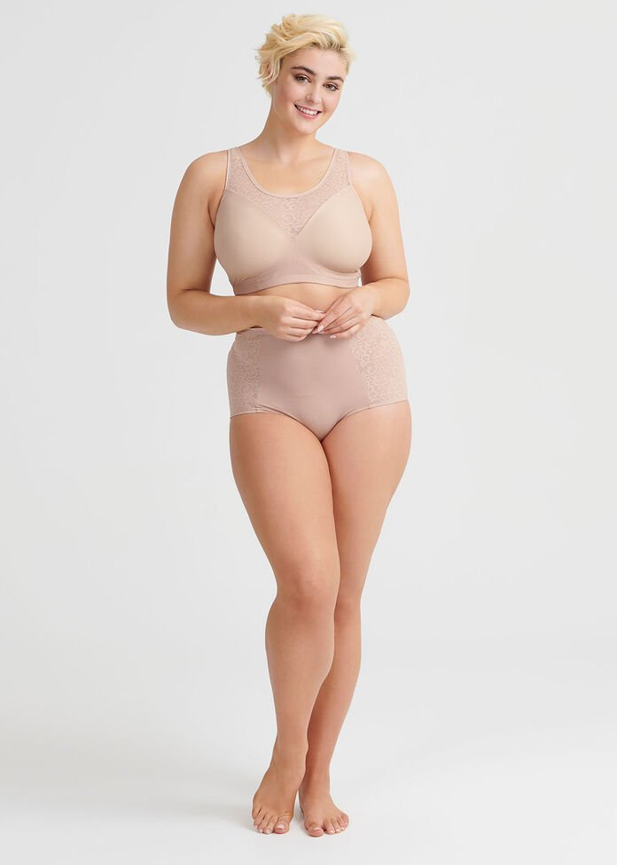 Wirefree Comfort Lace Bra Sizes 20-24, , hi-res