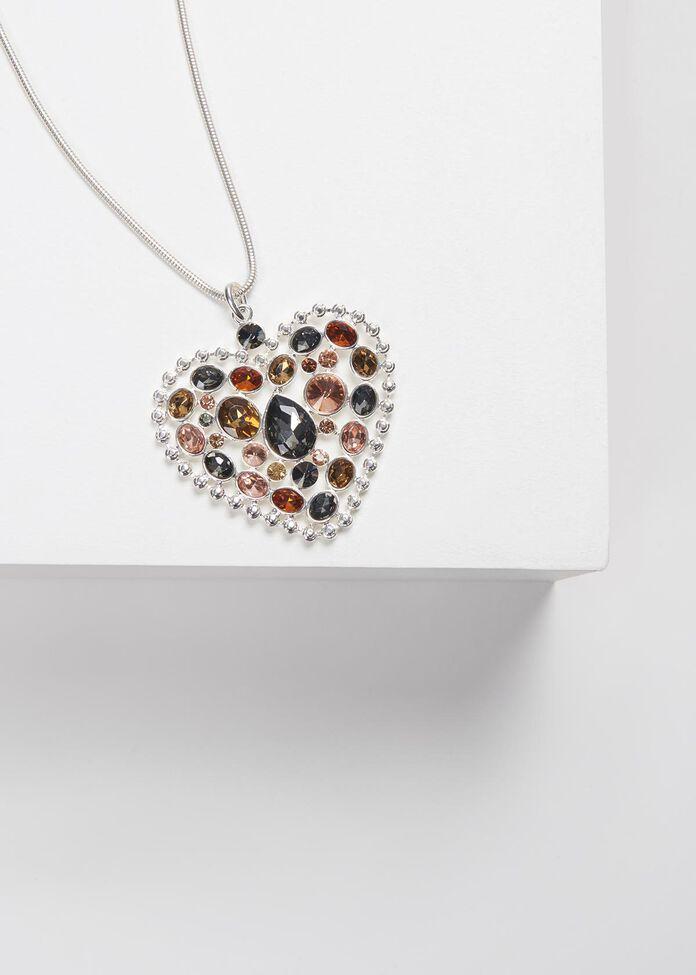 Prism Heart Necklace, , hi-res