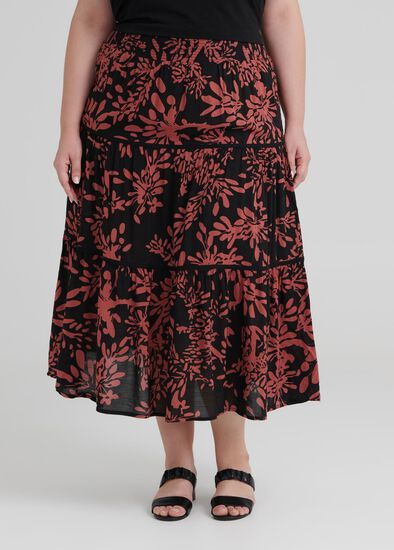 Valley Of Flowers Skirt