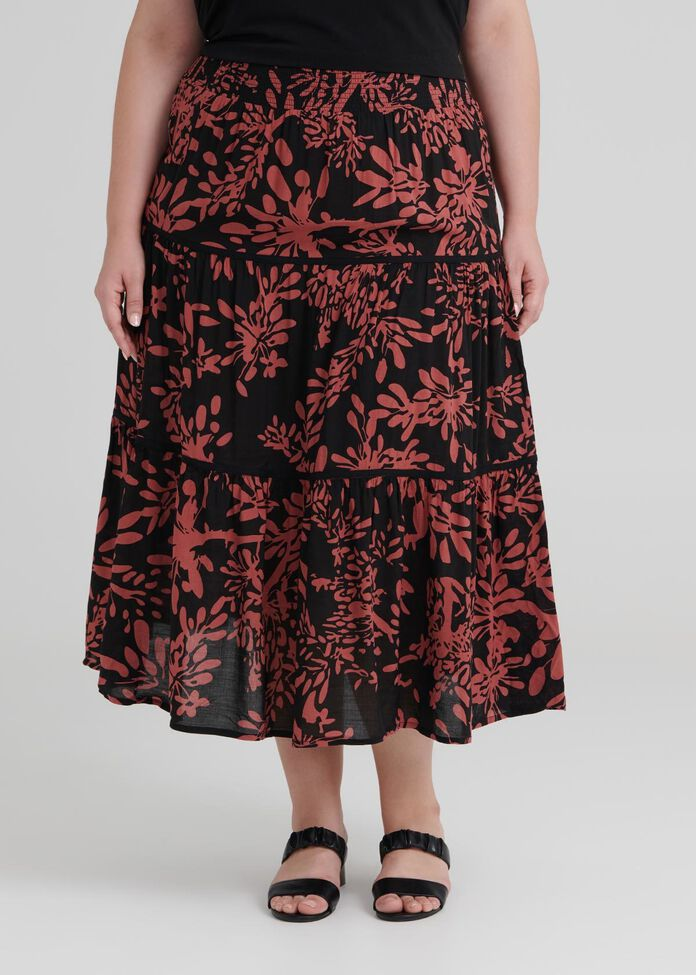 Valley Of Flowers Skirt, , hi-res