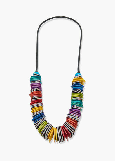 In The Square Necklace