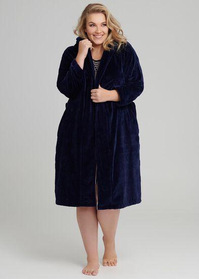 Spot Dressing Gown