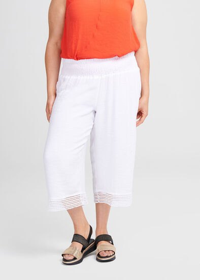 Escapade Lace Crop Pant