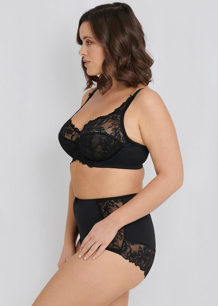 Lace Underwire Bra Sizes 14-18, , hi-res
