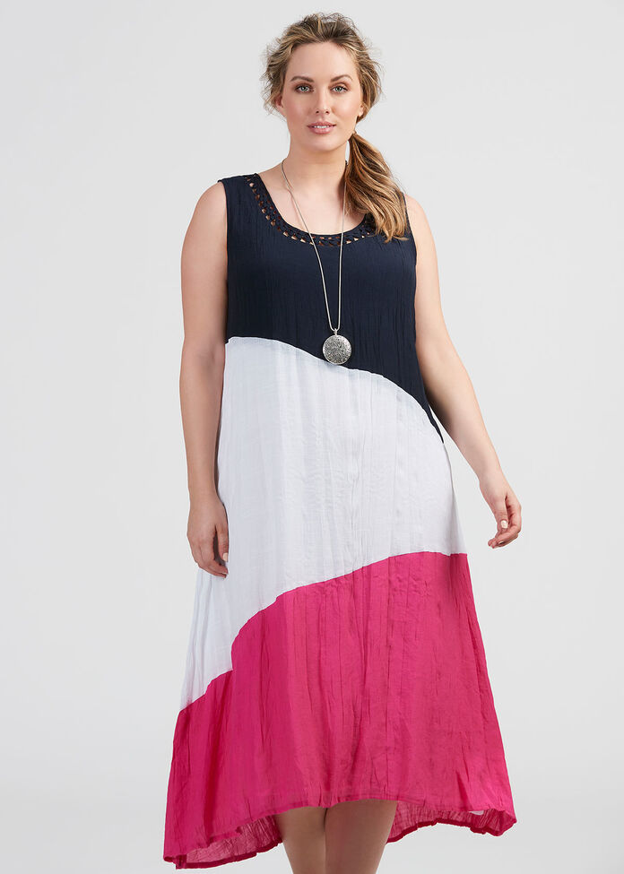 Splish Splice Dress, , hi-res