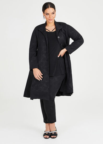 Bacarra Jacquard Opera Coat