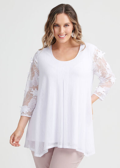 Bloom Lace Top