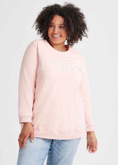 Organic Rose All Day Top