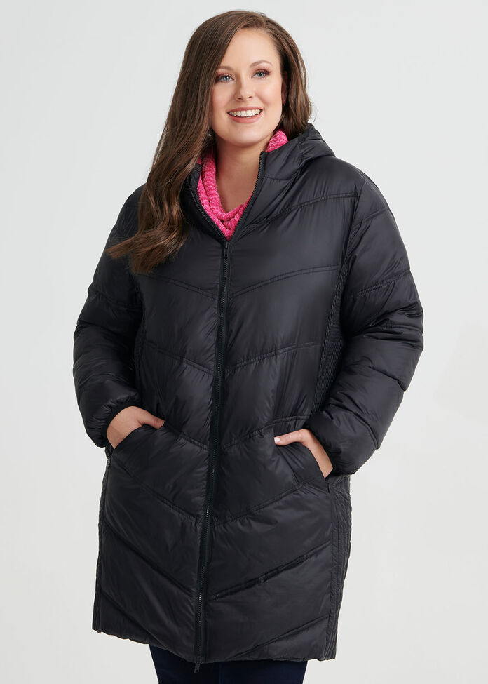 The Stitch Puffer Jacket, , hi-res