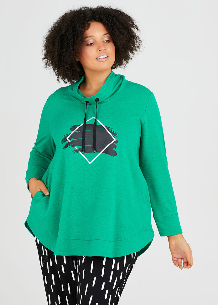 Sweat It Luxe Tunic, , hi-res