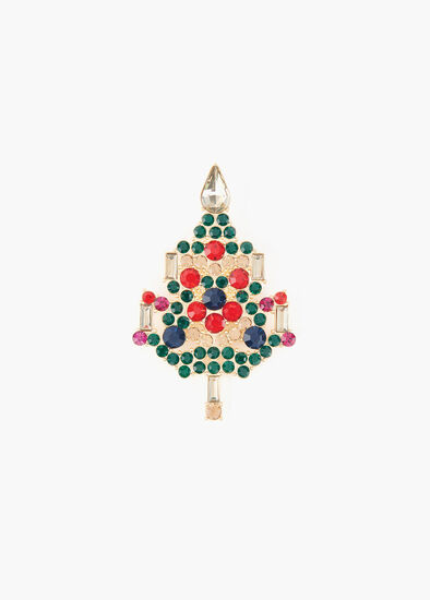 Trim The Tree Brooch
