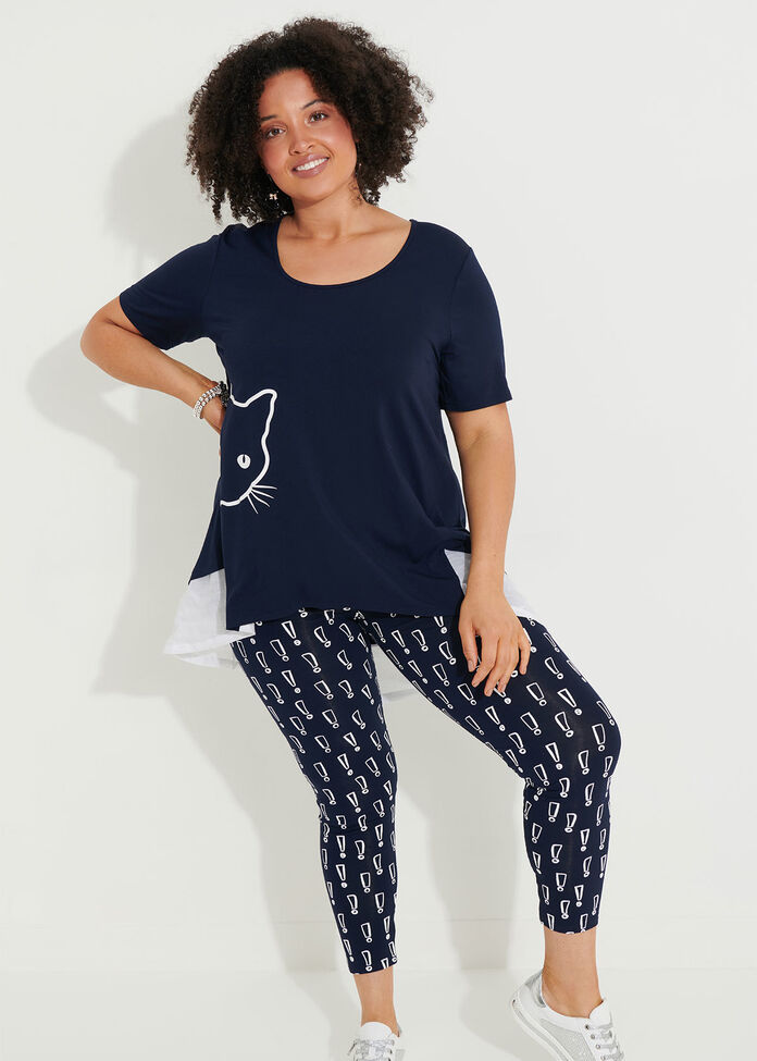 Encore Viscose Legging, , hi-res