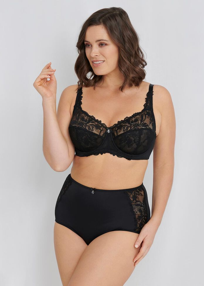 Lace Underwire Bra Sizes 20-24, , hi-res