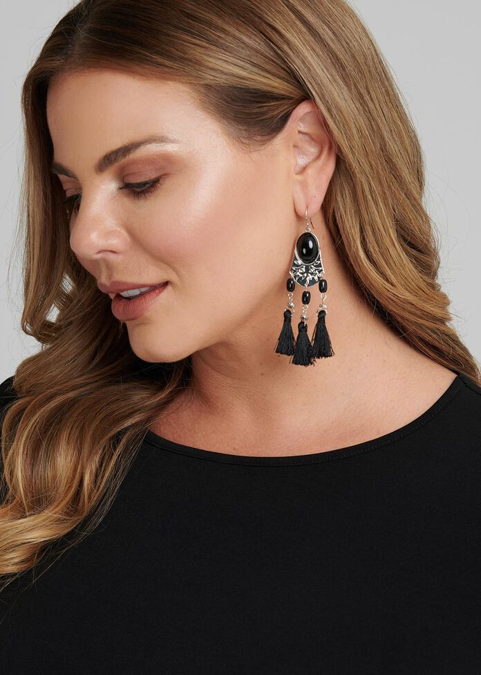 The Valkyrie Earrings, , hi-res