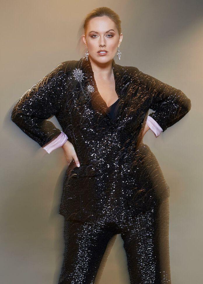 Sparkle Sequin Jacket, , hi-res