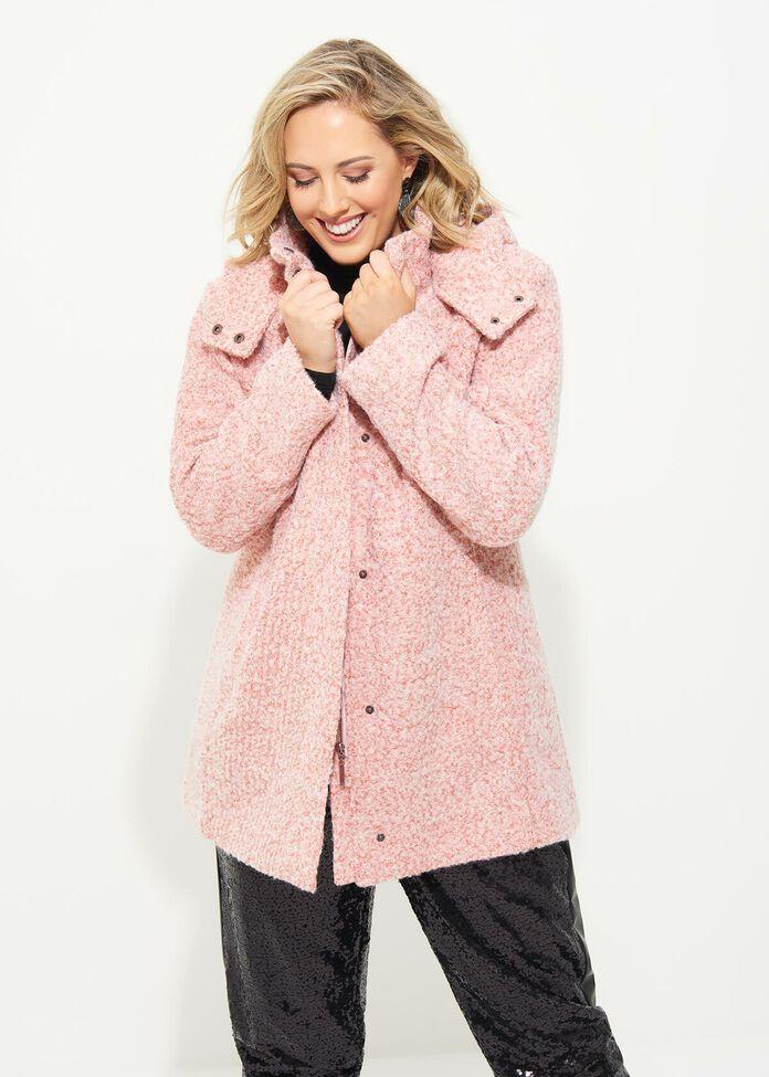 Romance Hooded Coat, , hi-res