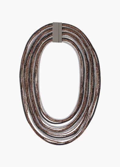 Bronze Glow Necklace
