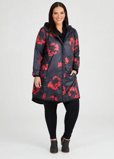 Rouge Noir Puffer Coat