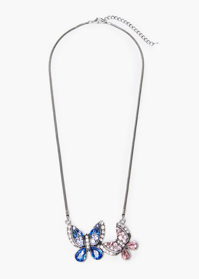 In A Flutter Necklace, , hi-res