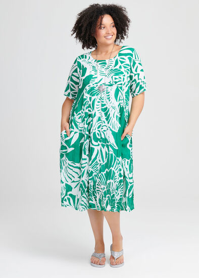Cotton Tropics Dress