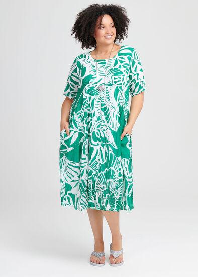 Cotton Tropics Dress